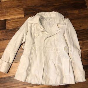 Sound & Matter medium cream pea coat